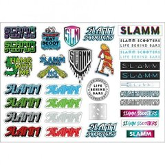 Slamm наклейки Sticker Sheet