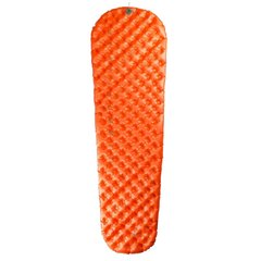 Надувной коврик Sea to Summit Air Sprung UltraLight Insulated Mat 2020, Orange, Small (STS AMULINS_S)