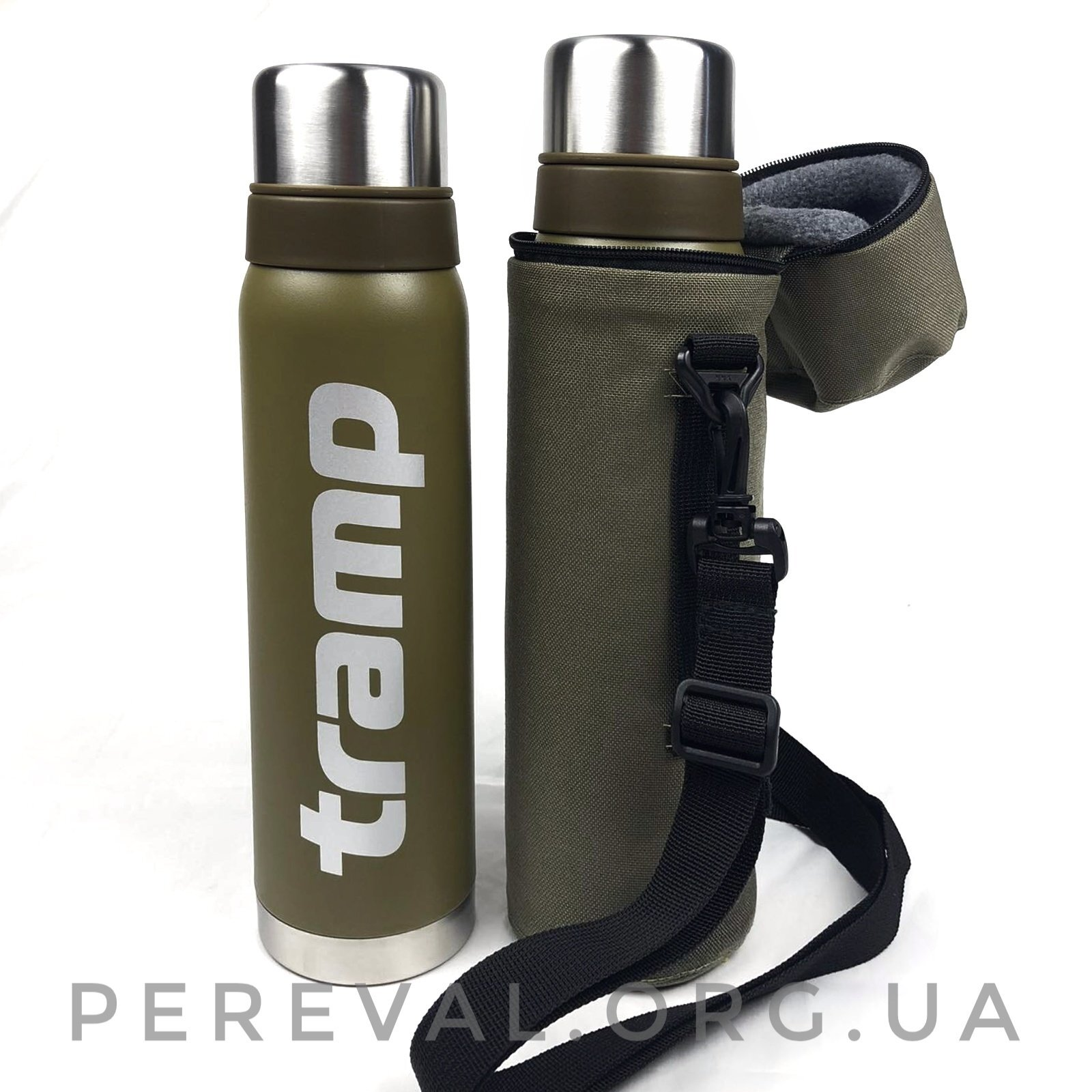 Термос Tramp Expedition Line 0,9 л TRC-027 оливковый